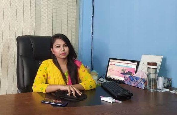 একজন নারী উদ্যোক্তা রাশিদা জান্নাত, কোভিড-১৯ যাকে থামাতে পারেনি
