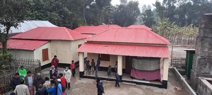 রাত পোহালেই কালীগঞ্জের ১৫০ পরিবার পাচ্ছে জমি ও ঘর